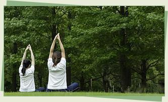 自然の声や息吹を感じて身体と心を健やかに