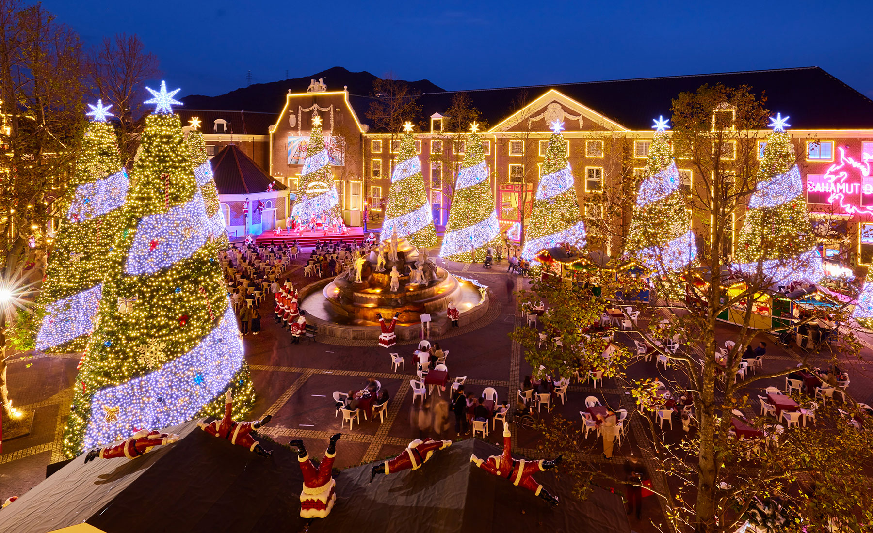 ハウステンボス クリスマスライト
