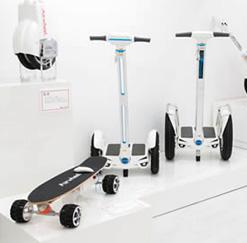 搭乗型移動支援ロボット